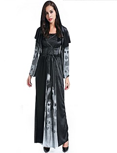 cheap -Zombie Vampire Cosplay Costume Masquerade Women's Halloween Carnival Day of the Dead Oktoberfest Festival / Holiday Halloween Costumes