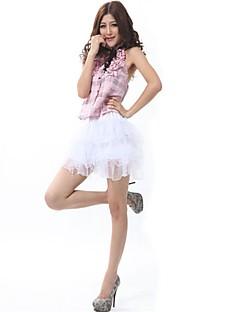billige Halloweenkostymer-Stuepike Kostumer Kjoler Cosplay Kostumer Dame Jul Halloween Karneval Oktoberfest Nytt År Festival / høytid Halloween-kostymer Rosa Stribe
