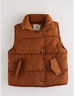 זול בגדים לילדים-ווסט כותנה סתיו ללא שרוולים אחיד בנים חום