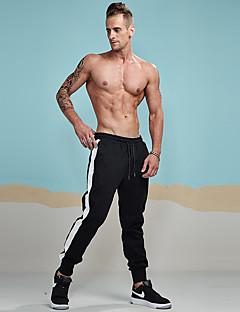 billige Herrebukser og -shorts-Herre Bomull Løstsittende Joggebukser Chinos Bukser Stripet