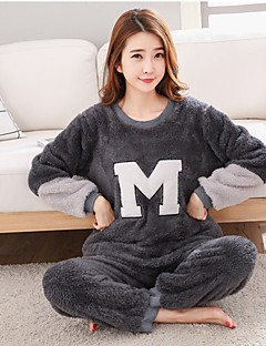 Damen Pyjama - Wollflanell