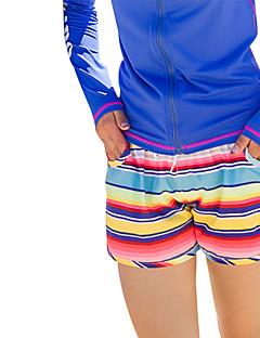 billige Bikinier og damemote 2017-Dame Nederdeler - Trykt mønster, Badeshorts Reaktivt Trykk