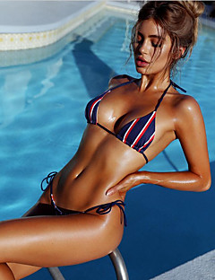 Dame Bikini Grime Trykt mønster