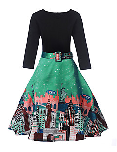 Women's Going out Daily Vintage Cute Street chic A Line Dress