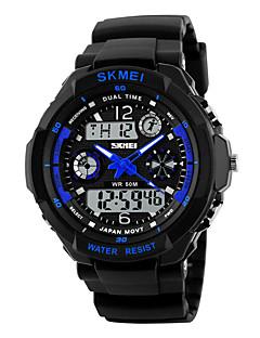 billige Digitalure-Herre Dame Digital Digital Watch Armbåndsur Smartur Militærur Sportsur Kinesisk Alarm Kalender Kronograf Vandafvisende Stor urskive