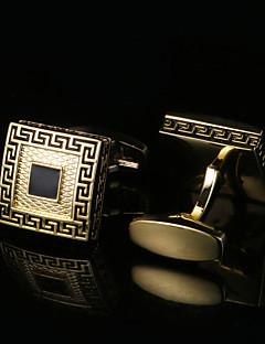 Χαμηλού Κόστους Σμόκιν και κοστούμια-Geometric Shape Χρυσαφί Butoni Μοτίβο Ανδρικά Κοστούμια Κοσμήματα Για
