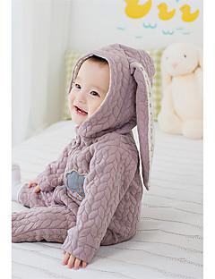 Baby Einzelteil Einheitliche Farbe Baumwolle Winter