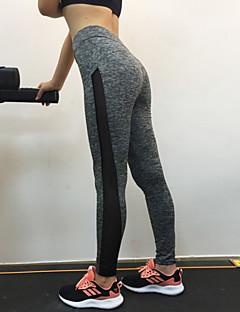 Női Nyomtatott Varrott csipke Egyszínű Legging
