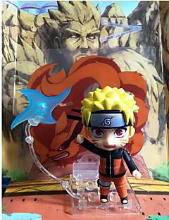 billige Anime cosplay-Anime Action Figurer Inspirert av Naruto Naruto Uzumaki 10 CM Modell Leker Dukke
