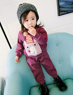 Mädchen Sets Andere Baumwolle Herbst Winter Kleidungs Set