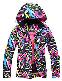 Mulheres Jaqueta de Esqui Térmico/Quente A Prova de Vento Esqui Esqui Esportes de Inverno