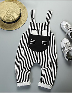 Boys' Stripes Pants-Polyester Fall