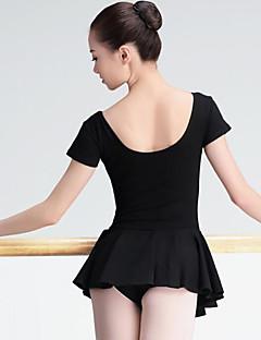 Ballet Dames Optreden Spandex Korte Mouw Natuurlijk Kleding