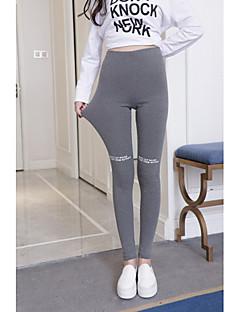 billige Nederdele og bukser til damer-Dame Sports Legging - Trykt mønster, Bogstaver Høj Talje
