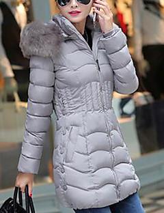 Χαμηλού Κόστους Κολεξιόν μεγάλα μεγέθη-Γυναικεία Μεγάλα Μεγέθη Ενισχυμένο - Μονόχρωμο / Χειμώνας