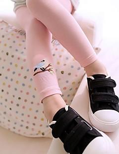 お買い得  女児 パンツ&レギンス-女の子 コットン パンツ オールシーズン カジュアル 活発的 ブルー ホワイト ピンク