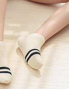 billige Sokker og strømper til damer-Dame Sokker-Ensfarget Varm