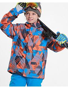 お買い得  スキーウェア-Phibee 子供用 スキージャケット ウォーム 防水 防風 耐久性 通気性 ウィンタースポーツ クロスカントリー スノースポーツ スペースコットン