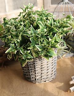 Χαμηλού Κόστους Σετ Σεντονιών & Μαξιλαροθήκες-Ψεύτικα λουλούδια 5 Κλαδί Ευρωπαϊκό Φυτά Λουλούδι για Τραπέζι