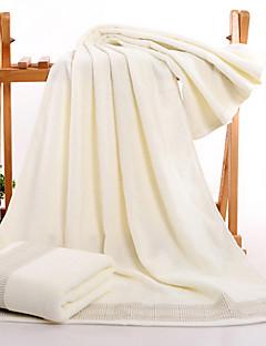 Frisse stijl Badhanddoek,Effen Superieure kwaliteit Puur Katoen Jacquard Geweven Handdoek