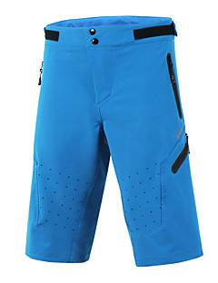 billige Sykkelklær-Arsuxeo Herre Sykkelshorts Sykkel Hengende Shorts / MTB-shorts / Bunner Fort Tørring, Anatomisk design, Pustende Klassisk Polyester,