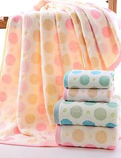 Frischer Stil Badehandtuch,Polkadot Gehobene Qualität Reine Baumwolle Handtuch