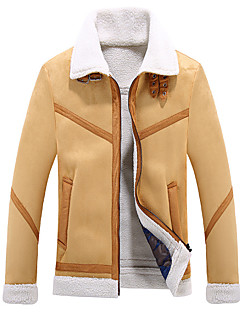 Men's Casual/Daily Casual Winter Fall Leather Jackets