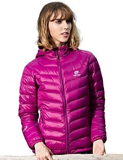baratos Jaquetas Softshell, de Lã ou de Trilha-Mulheres Jaquetas de Penas Exercicio Exterior Corrida Esportes de Neve A Prova de Vento Á Prova-de-Chuva Vestível Inverno
