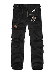 tanie Turystyczne spodnie i szorty-Męskie Spodnie cargo Na wolnym powietrzu Wiatroodporna, Zdatny do noszenia, Sporty zimowe Zima Spodnie Multisport / Elastyczny / a