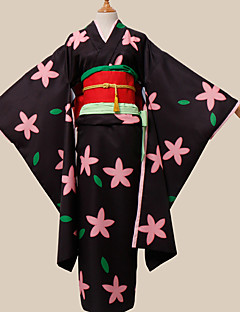"billige Anime cosplay-Inspirert av Hoozuki ingen Reitetsu Zashiki-warashi 1 Anime  ""Cosplay-kostymer"" Cosplay Klær Annen Midje Tilbehør Belte/bånd Hodeplagg"