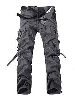 tanie Odzież turystyczna-Męskie Spodnie cargo Na wolnym powietrzu Wiatroodporna, Zdatny do noszenia, Sporty zimowe Zima Spodnie Multisport / Elastyczny / a