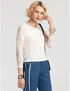 Women's Going out Daily Simple Fall Winter Blouse