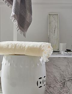 Frisse stijl Badhanddoek,Effen Superieure kwaliteit Puur Katoen Gewoon100% Katoen Handdoek