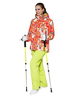 billiga Skid- och snowboardkläder-Wild Snow Dam Skidjacka Vindtät, Varm, Ventilerande Skidåkning / Multisport / Vintersport Polyester Klädesset Skidkläder