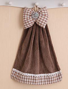 Frisse stijl Handdoek,Effen kleur Superieure kwaliteit Polyester / Katoen Mix Simpel Geweven Handdoek