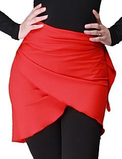 お買い得  ダンス用アクセサリー-ラテンダンス ベリーダンス用ヒップスカーフ 女性用 性能 アイスシルク ヒップスカーフとベルトは含まれていません.