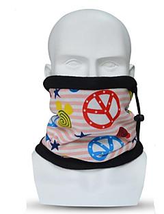 billige Sykkelklær-Ansiktsmaske Alle årstider Hold Varm Sykling Sykling Avslappet Unisex Polyester/Bomull Mønster