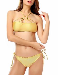 お買い得  レディース ビキニ&スイムウェア-女性用 ビキニ - ソリッド 純色