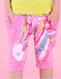 tanie Odzież dla chłopców-Spodnie Bawełna Dla chłopców Kreatywne Lato Aktywny Clover Orange Blushing Pink Yellow Fuchsia