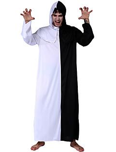 billige Voksenkostymer-Vampyrer Cosplay Kostumer Herre Halloween Festival / høytid Halloween-kostymer Hvit Vampyrer Halloween