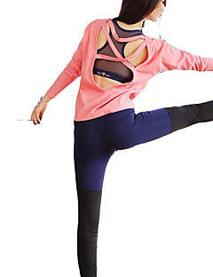 billiga Träning-, jogging- och yogakläder-Dam Lappverk Löparbyxor - Svart, Marinblå sporter Byxa Sportkläder Snabb tork, Mateial som andas, Supertunn