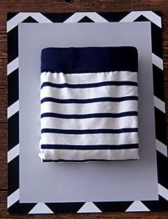 billige Herremote og klær-Herre Elastisk Underbukse Tynn-Stripet Bomull 1 Svart Rød Marineblå