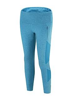 billiga Träning-, jogging- och yogakläder-Dam Joggerbyxor / Löparbyxor - Blå sporter Elastan Byxa / Leggings Sportkläder Mateial som andas