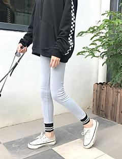 tanie Getry-Damskie Jednolity kolor Legging - Jendolity kolor Solid Color Średni Talia