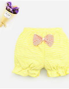 tanie Odzież dla dziewczynek-Bielizna Bawełna Dla dziewczynek Groszki Prążki Lato Nieelastyczny/a White Orange Czerwony Yellow