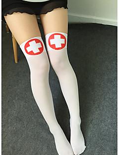 billige Sokker og strømper til damer-Dame Strømper - Helfarge Tynn