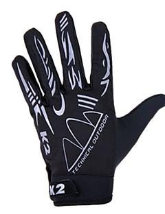 billiga Cykling-KORAMAN Aktivitet/Sport Handskar Cykelhandskar / Pekvantar Andningsfunktion / Bra andasmaterial (> 15.001g) / Anti-sladd Helt finger Spandex Cykling / Cykel Herr / Dam / Unisex