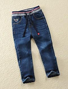 cheap Boys' Clothing-Boys' Solid Pants Fall Blue