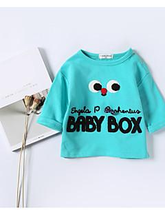 billige Babytøj-Baby Drenge Bluse Moderne, Bomuld Langærmet Normal Blå Gul