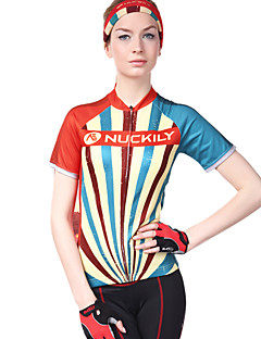 cheap Cycling Jerseys-Nuckily Women's Short Sleeve Cycling Jersey - Camouflage Bike Jersey, Ultraviolet Resistant, Breathable, Sweat-wicking Polyester, Lycra